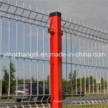 Clôture en treillis soudé 3D ISO9001 (prix du fabricant)