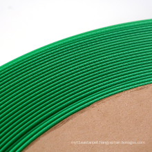 battery powered plastic tool petpp pe green embossed manual packing strap