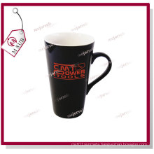 17oz Sublimation Ceramic Heat Sensitive Mug Black Color