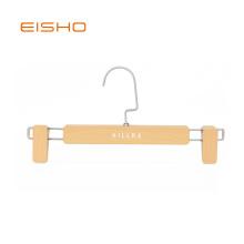 EISHO Wood Imitation Plastic Pants Hanger
