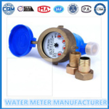 Multi-Jet Brass Dry Dial Type Water Meter