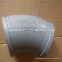 Coude à long rayon ST52 Coude à pompe à béton DN100 * R1000 60D