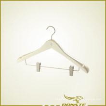 White Matte Hanger for Hotel