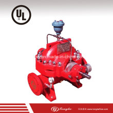 Sécurité sûre et sûre Stable Running Split Cast Fire Fighting Pump