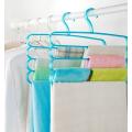 clear colour plastic hangers