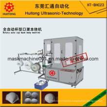 Ultrasonic Medical Nonwoven Disposable N95 Cup Dust Mask Making Machine