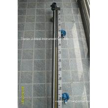 Transmetteur à rouleaux Megnetism ajouté à l'indicateur de niveau magnétique