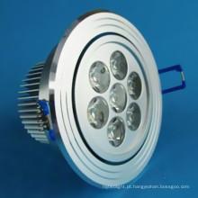 7W LED de alta potência Downlights