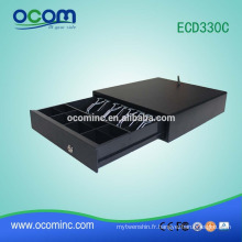 Tiroir-caisse électronique en plastique 24v petit POS avec USB (ECD330C)