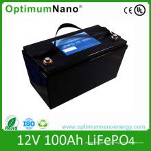 Batería de iones de litio de ciclo profundo 12V 100ah para almacenamiento de energía solar