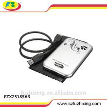 2.5 Caja de disco duro de 1 TB de unidad de disco duro externo