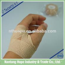 bandage élastique non tissé auto-adhésif pour le soin des plaies