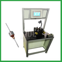 Automatic positioning armature dynamic balancing machine