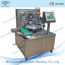 Tasse de machine de remplissage de crème glacée de type rotatoire