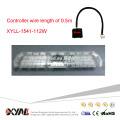 "12-24V 112W 72"" 1W High Power Flashing Warning Super Bright PC Lens LED Warning Light Bar"