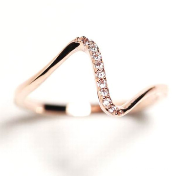 Fashion Jewelry 925 Sterling Silver Ring Jewelry with CZ