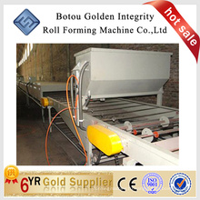 Color Stone sand blasting coated steel roof machine