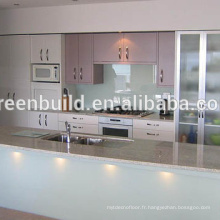 Dessins simples de Cabinet de cuisine en bois pour des villas