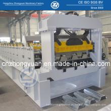 Rolo galvanizado da plataforma de assoalho que forma a máquina