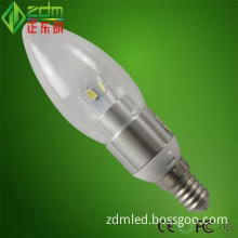 warm white led candles high efficiency&100% gurantee CE ROHS FCC