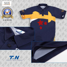 100% Polyester Running Dry Fit Polo Shirts