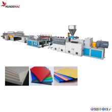 Línea de producción de placa de espuma de PVC Máquina extruida