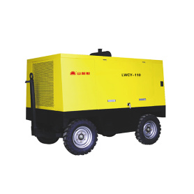 LWCY110 Electric 110KW Mobile screw compressor