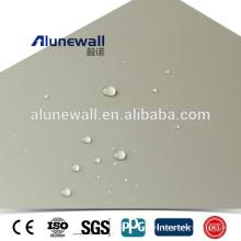 Paneles compuestos plásticos de aluminio Nano Pvdf del uso al aire libre impermeable