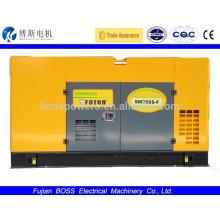 Desarrollado por FOTON con Generador Diesel Silencioso ATS 20KW