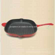 Fábrica de utensilios de cocina de hierro fundido de esmalte China Dia 29cm