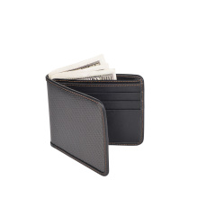 RFID blocking carbon fiber slim wallet