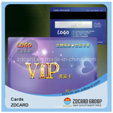 Business Printing Plastic PVC RFID Smart Gift Card 3D Card