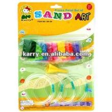 пластиковые браслеты цвета песка ,песок искусства