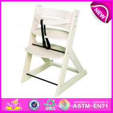 Professional Baby High Chair Wood, Wooden Baby High Chair, Best Quality Wooden Baby High Chair Dinner Chair Set W08f036