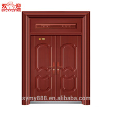 Finish main entrance exterior cheap steel security door design