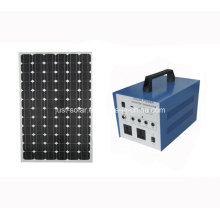 80W Solar AC Power System for Poor Electricity Area