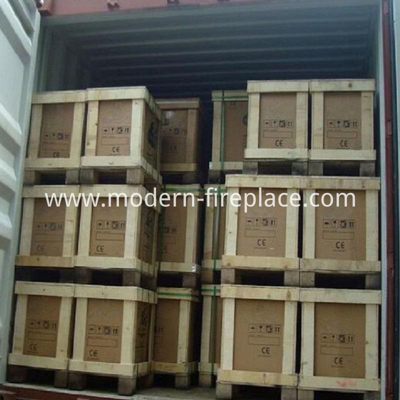 Wood Burning Log Stove Packaging