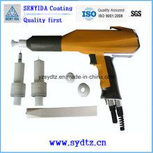 Pistolet électrostatique à peinture par pulvérisation en poudre Pistolet pulvérisateur
