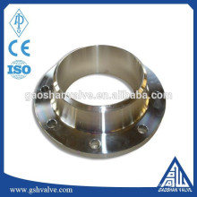 Aço inoxidável GOST 12821-80 flange de pescoço de soldagem