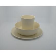 (BC-CS1060) Vajilla de fibra de bambú Eco / serie de combinación de utensilios de cocina para niños