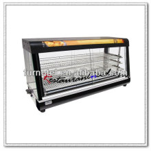 K427 Counter Top Luxuriöse elektrische Erwärmung Showcase