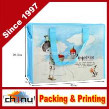 Promoção embalagem de compras não tecidos saco (920061)