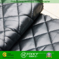 Black Color Ripstop Quilted Fabric for Winter Garment