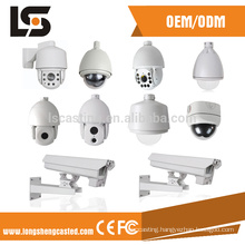 Oem custom aluminum die casting Chinese supplier waterproof cctv bullet camera housing with ISO 9001 certified