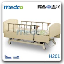 H201 lit de soins en bois chaud