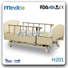 H201 wooden nursing bed hot
