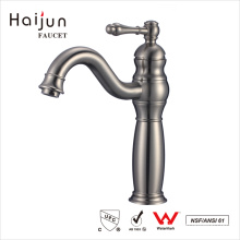 Haijun 2017 New Products 0.1~1.6MPa Deck Mounted Wash Basin Mixer Faucets