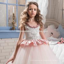 Neueste Kinder Kleider Lace Stock Länge A Line Kinder Blumenmädchen Kleid