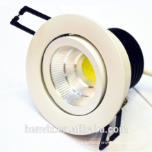 high lumen CRI>80RA 7w led crystal downlight