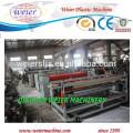 2300mm width of PP hollow grid sheet extruder machine line